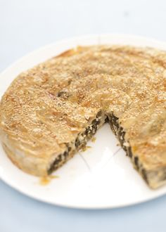 Börek-very thin dough layers staffed with cheese, meat or vegetables