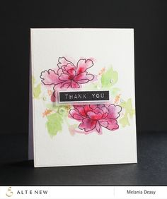 Two Thank You Cards «