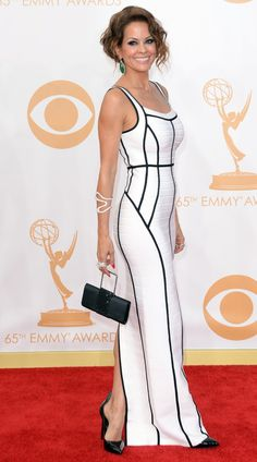 Brooke Burke-Charvet Photos - TV personality Brooke Burke-Charvet arrives at the Annual Primetime Emmy Awards held at Nokia Theatre L. Live on September 2013 in Los Angeles, California. - Arrivals at the Annual Primetime Emmy Awards — Part 5 Beautiful Dresses, Nice Dresses, Brooke Burke, Gowns Of Elegance, Elegant Gowns, Fashion Wear, High Fashion, Fashion Dresses, Red Carpet Looks