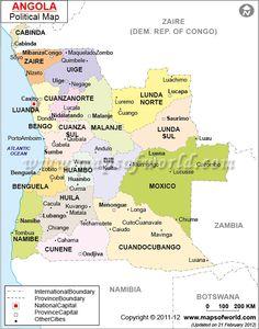 Angola, eu vivi aqui