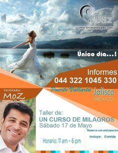 17 de mayo en puerto Vallarta con el taller dd Un curso de milagros