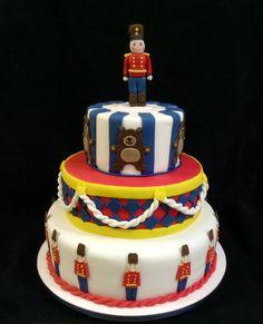 Bolo soldadinho de chumbo - Tin Soldier Cake