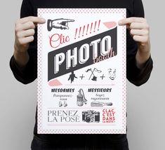 N'oubliez pas la signalétique de votre photobooth.