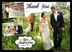 I DO invitations by michelle: New Wedding Thank You Photo Collage