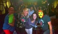 Sala llena para Endiablados @MigueDiazYo @EnmascaradoUp #StandUp #Humor
