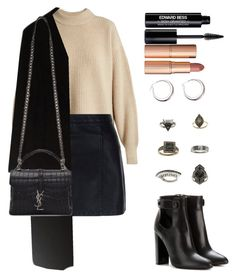 """Untitled #1675"" by luxaragon-la ❤ liked on Polyvore featuring The Row, New Look, Calvin Klein, Tom Ford, Yves Saint Laurent, Topshop, Edward Bess and Charlotte Tilbury"