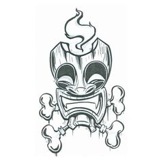 Google Image Result for http://www.tattooscity.com/images/tattoos/3415tiki_mask_with_bones.jpg