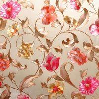 Folha pedaço de folha de ouro em relevo rústico flor papel de parede papel de parede de casamento