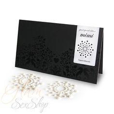 Mimi Pearls. Cubre Pezones Edición Especial blanco perlado