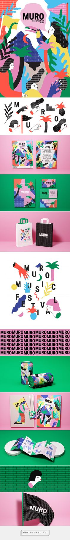 Muro festival on Behance... - a grouped images picture - Pin Them All