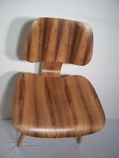 Rare 1996 Limited Edition Herman Miller Eames LCW Brazilian Rosewood 287 of 500