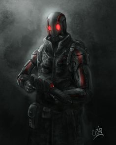 Red Point Soldier - INFEROS by D3SMMUN on deviantART