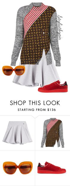 """Untitled #6781"" by stylistbyair ❤ liked on Polyvore featuring Kenzo, Louis Vuitton and adidas Originals"