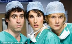 Green Wing doctors join strike : News 2016 : Chortle : The UK Comedy Guide Comedy Actors, Actors & Actresses, Tamsin Greig, Episodes Tv Series, Gentleman, Junior Doctor, Green Wing, Den Of Geek, Medical Drama