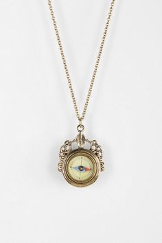 I've seriously always wanted a compass necklace.  So cool and pretty!