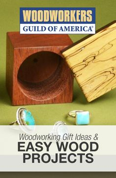 DIY Woodworking Gift Ideas & Easy Wood Projects
