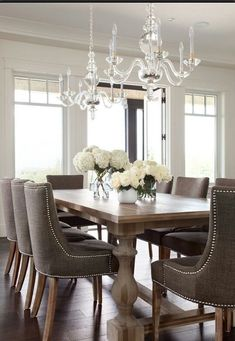 Dining Room Decor Formal Best Formal Dining Room Design And Decor Ideas . Pretty Formal Dining Room By Diane Durocher Interiors . Home and Family Elegant Dining Room, Dining Room Design, Dining Room Furniture, Dining Chairs, Dining Rooms, Furniture Design, Furniture Ideas, Wicker Furniture, Plywood Furniture