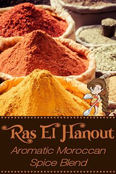 When making this fabulous spice blend by Foodie Home Chef, the aroma alone will make your mouth water! Ras El Hanout is a versatile Moroccan spice blend that you can use on meats, poultry, vegetables, potatoes, in soups & stews, on salads & even on eggs. Using your imagination, I'm confident you'll find all sorts of ways to use Ras El Hanout. Ras El Hanout   Moroccan Spice Blend   Moroccan Seasoning   African Recipes   Spice Blends   Seasoning Blends   #foodiehomechef @foodiehomechef