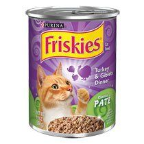 12 Pack - Purina Friskies Turkey and Giblets Dinner Canned Cat Food, 13-oz. Cans ** Quickly view this special cat product, click the image : Best Cat Food