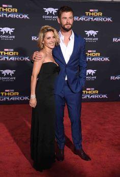 """Elsa Pataky y Chris Hemsworth han paseado su amor por la alfombra roja en el estreno de la nueva entrega de """"Thor"""", en Los Ángeles"""