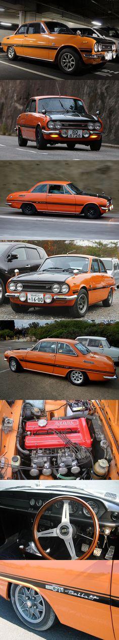 1969 Isuzu Bellet 1600 GTR / Japan / orange