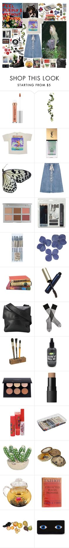 """""""the answer my friend, is blowin in the wind"""" by freakystyley ❤ liked on Polyvore featuring Anastasia Beverly Hills, Yves Saint Laurent, Sea, New York, Royal & Langnickel, Sony, Clé de Peau Beauté, Chanel, Gerbe, NARS Cosmetics and Bonne Bell"""