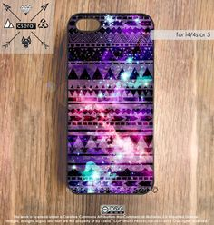 Galaxy iPhone 5 Case iPhone 4 Case Aztec iPhone 4S by casesbycsera, $17.99
