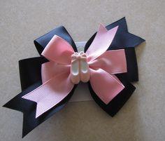 Ballet Pinwheel Hair Bow