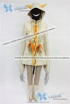 Blazblue Torakaka Cosplay Costume with wig Ver.Black anysize