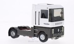 Renault AE 500 Magnum Solozugmaschine, weiss Magnum, Tractor, Recreational Vehicles, Trucks, Templates, Scale Model Cars, Camper Van, Truck, Tractors