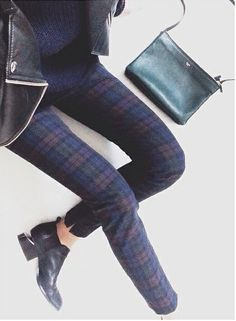 YESSS PLAID PANTS! PLAID EVERYTHING! (Just not together. I'm not a wild animal)
