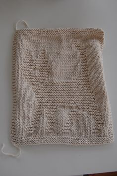 Knitted Dalek Pattern : Kittens, Knit dishcloth and Knits on Pinterest