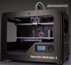 """MakerBot 3-D Printer. Got to be the coolest. Can't find a part for your """"whatzit"""", make your own.  Could be standard supply source for our future in space. You can't just jog to the nearest store every time you need something."""
