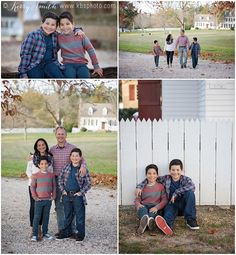 Williamsburg VA family photo session.  Colonial Williamsburg. CW. Boy sibling poses. Family of 4 pose.  Fall mini sessions.  Kerry B Smith Photography. KBSphoto