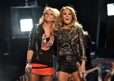 """Double the trouble, double the fun. Miranda Lambert and Carrie Underwood debut their new duet, """"Something Bad,"""" on the 2014 Billboard Music Awards on May 18 in Las Vegas"""