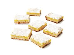 Lemon Bars - from Paula Dean so you know it's good (and uses lots of butter)!  (I added a little lemon zest.)