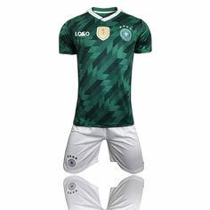 2018 Adult Germany  Away Camiseta de futbol soccer jerseys set Men Football Kits