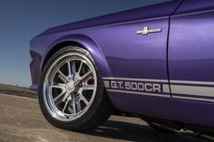 Your Ridiculously Purple 1967 Shelby GT500CR Wallpapers Are Here