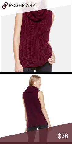 4ae372a07c62 Two By Vince Camuto Sleeveless Turtleneck Sweater