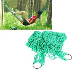 7.38$  Watch here - http://di6o2.justgood.pw/go.php?t=OU0054501 - High Strength Material Hammock Camping Yard Hanging Bed for Outdoor Activities (Green)