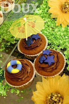 Cupcakes da Pool Party da Sophia