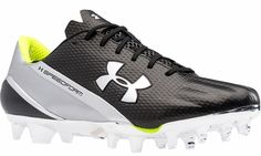 Under Armour Speedform MC Men's Football Cleats - The quickest cleat out there for players who depend on speed - $129.99 Mens Football Cleats, Football Gear, Football Stuff, Under Armour, Helmet, Boots, Sneakers, Tennis, Crotch Boots