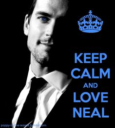 White Collar, such a smart and funny show! I ♥ Neal Caffrey  No problem following the suggestion on the picture