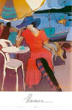 Dominique by ISAAC MAIMON  One of my favorite paintings
