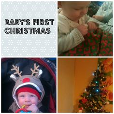 Baby's first Christmas from Dad's the Way I Like It kbn parent, dad, babies first christmas, christma activ, kbn christma, parent blogger, kid