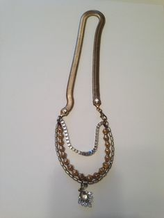 ahhhhh.....creating again! Statement Necklace