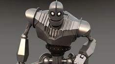 Is one of my loved charcters and this is a personal job as a tribute of Iron Giant movie Steampunk Robots, Master Chief, Iron, The Iron Giant, Steel