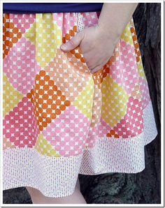 Easy Peasy Skirt with Pockets {Sewing Tutorial} - EverythingEtsy.com