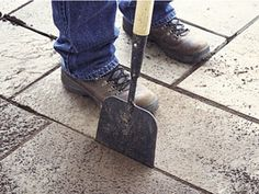 Stone patio - how to