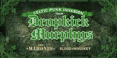 Dropkick Murphys Celtic Punk Invasion Tour - Irish Punk